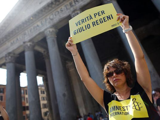 Italy denies US provided evidence on alleged involvement of Egyptian officials in Regeni murder